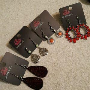 4 Pairs Earrings Lot